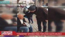 Taksim Delisi Cenk Sahte Dilenci Kılığında Yaklandı