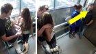 Asansörde Güzel ve Yakışıklı Bir Çifti Öpüşürken Görenlerin Tepkileri