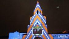 Kazan Kremlini'nde 3D ışık şovu