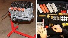 Chevrolet Camaro'nun 3 Boyutlu Yazıcıdan Motorunu Yaptı