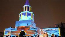 Kazan Kremlini'nde 3D Işık Şovu