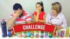 Kuzenim Sinem Ve Babam İle KOMİK Smoothie CHALLENGE!!