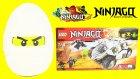 LEGO Ninjago Zane Oyun Hamuru DEV Sürpriz Yumurta Açma Oyuncak Abi