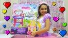 Melike Rapunzel Kostümü İle Prenses Mutfak Seti Açıyor | Mutfak Oyuncakları