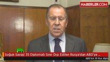 Soğuk Savaş 35 Diplomatı Sınır Dışı Edilen Rusya'dan Abd'ye Karşı Hamle