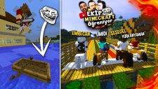 BOAT KİLL TROLLÜ VE AT YARIŞI ! - EKİP Minecraft ÖĞRENİYOR #7