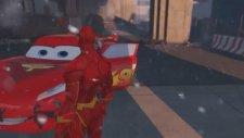 Süper Şimşek McQueen ile Flash Joker ve Jokerin Adamları Tarafından Kaçırılıyor