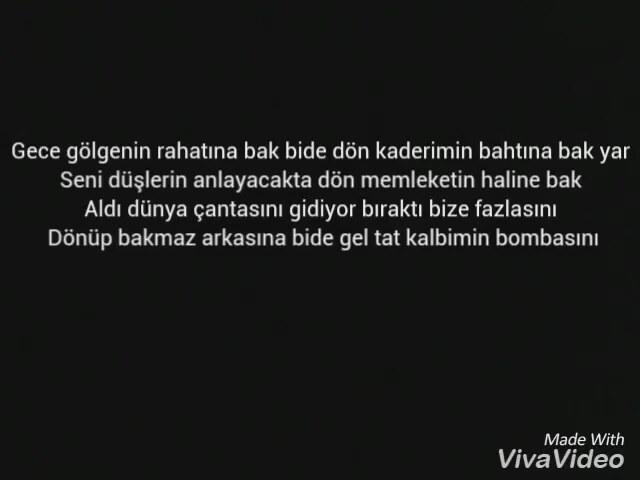 çağatay Akman Gece Gölgenin Rahatına Bak şarkı Sözleri Izlesenecom