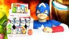 Kaptan Amerika Sürpriz Yumurta Açma - Yenilmezler Zombilere Karşı