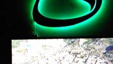 Vav harfi ayna kabartmalı kumandalı ışıklı