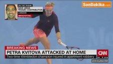Arkadaşları, Tenisçi Kvitova'yı Bıçaklayan Kişi Hakkında Bilgi Verene Para Ödülü Verecek