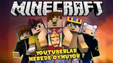 Minecraft Serverları | YouTuberlar Hangi Serverlarda Video Çekiyor ?