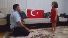 Türklük Şiirini Öğrenen Kocaman Yürekli Minik Kız