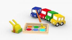 4 Cars  Dort Araba Okul Hazırlıgında