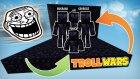 Blokların Arasına Kamufle Olduk | Trollwars | (I Am Stone Challenge)