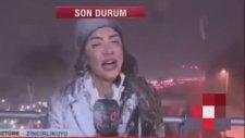Kanal D Muhabiri Yüz Felci Geçiriyordu