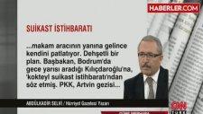 Başbakan'a Gece Yarısı Kılıçdaroğlu'nu Aratan İstihbarat İkiz Araçla Suikast