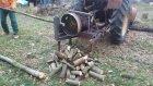 Araba Jantı Kullanarak Odun Kesmek