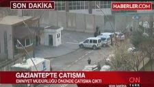 Gaziantep Emniyet'i Önünde Çatışma Canlı Bomba İçeri Girmeye Çalıştı