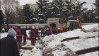 Kar Biriken Tente Cemaatin Üzerine Çöktü