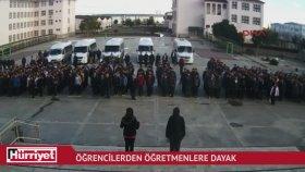 Öğretmen Ve Müdür Yardımcısına Saldıran Öğrenciler
