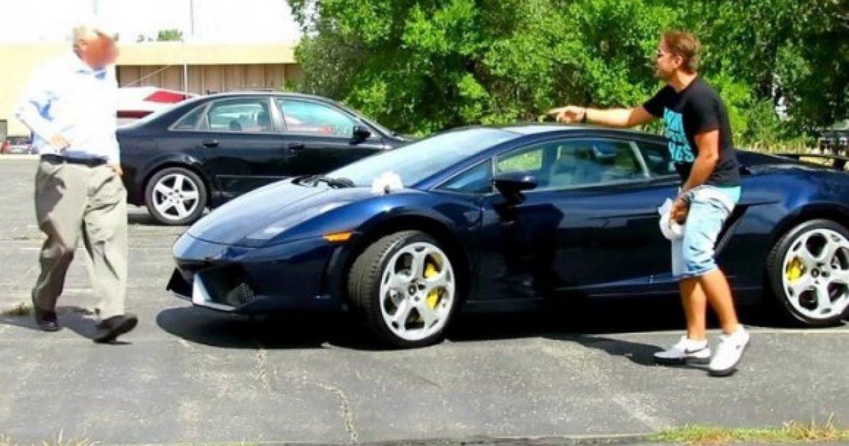 Lamborghini 220 Zerine Tuvalet Yapma Şakası İzlesene Com