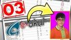E-OKUL NOTLARIMA BAKIYORUM ! (