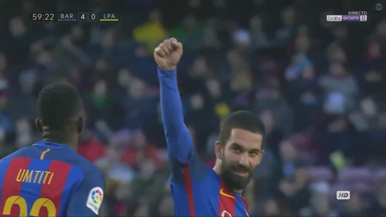 Arda Turan ın Las Palmas a attığı gol