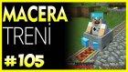 Macera Treni  ve  Yeni Planlar- Minecraft Türkçe Survival -  Bölüm 105