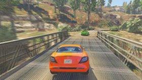 Şimşek McQueen ve Örümcek Adam Spor Arabayla Plajı Geziyor (Çizgi Film Tadında - Türkçe Dublaj)
