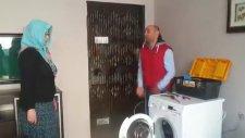 Bilinçsiz Ev Hanımı Yüzünden Dellenen Yetkili Servis
