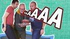 Trambolinde Zıplarken Bardakları Düşürme! - Eğlenceli Kapışma