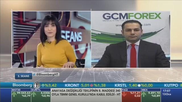 13.01.2017 - Bloomberg HT - 3. Seans - GCM Menkul Kıymetler Araştırma Müdürü Dr. Tuğberk Çitilci