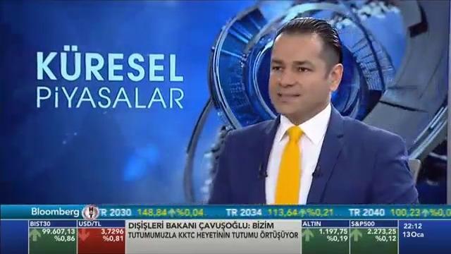 13.01.2017 - Bloomberg HT - Küresel Piyasalar - Araştırma Müdürü Dr. Tuğberk Çitilci
