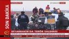 Diyarbakır'da Bombalı Terör Saldırısı: 1 Polis Şehit
