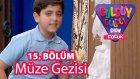Güldüy Güldüy Show Çocuk 15. Bölüm, Müze Gezisi Skeci