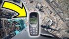1000 Metre Yükseklikten Nokia 3310 Atarsak Ne Olur?