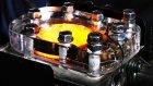 İçten Yanmalı Motorun Ağır Çekim Görüntülerle Çalışma Anı