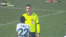 İsmail Köybaşı'nın Gençlerbirliği maçında penaltı yaptırdığı pozisyon