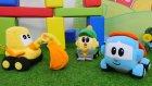 Çocuklar için video-Leo Junior oyun alanı yapıyor. Eğienceli oyunlar.