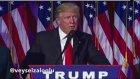 Donald Trump ilk açıklama ( seslendirme : Veysel Zaloğlu)
