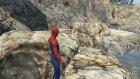 Süper Şimşek McQueen ve Örümcek Adam Roket Araba İle Yarışıyor (Çizgi Film Gibi)