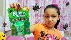 Slimy Horhor Miğde Bulandırıcı Korkunç Slime İçinde Böcekler Var