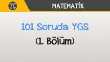 101 Soruda YGS Matematik - (1.Bölüm)