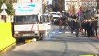 Freni Patlayan Kamyonet Emniyet Müdürlüğünün Duvarına Çarptı
