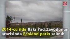 AZERBEYCANDA PARKLAR İNSANLARIN OTURACAĞI YERLER ÇOK PARA HARCANIYOR FAKAT HALKA FAYDASI OLMUYOR