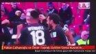 Hakan Çalhanoğlu ve Ömer Toprak Golden Sonra Nusret'in Taklidini Yaptı