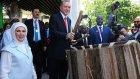 Recep Tayyip Erdoğan'ın Tanzanya'da Tamtam Çalması