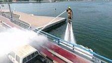 Dubai'de İtfaiyeciler Yangına Jetpack ile Müdahale Edecek!
