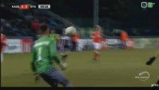 Ishak Belfodil'in Eupen'e attığı ilginç gol